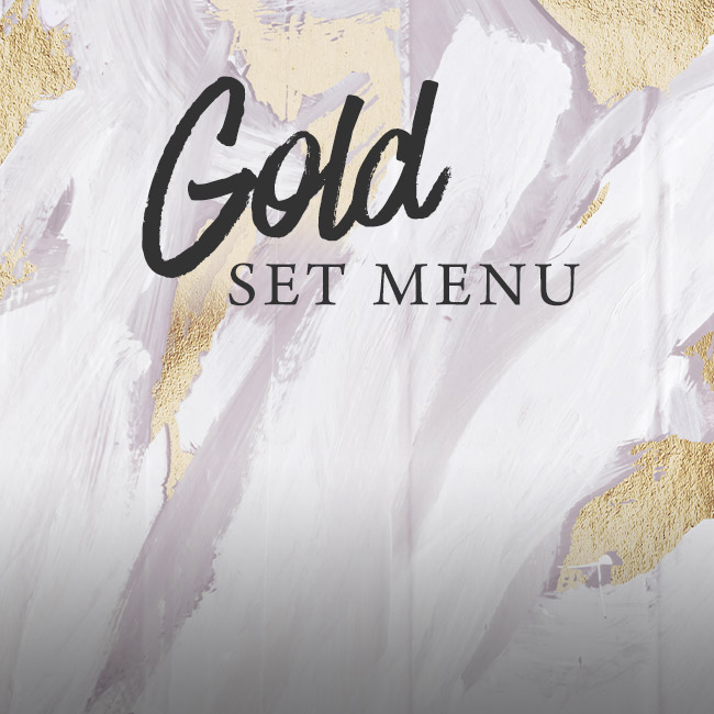 Gold set menu at The Marchmont Arms