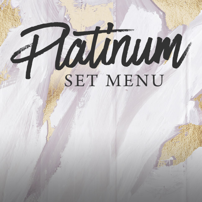 Platinum set menu at The Marchmont Arms