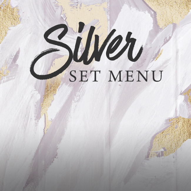 Silver set menu at The Marchmont Arms